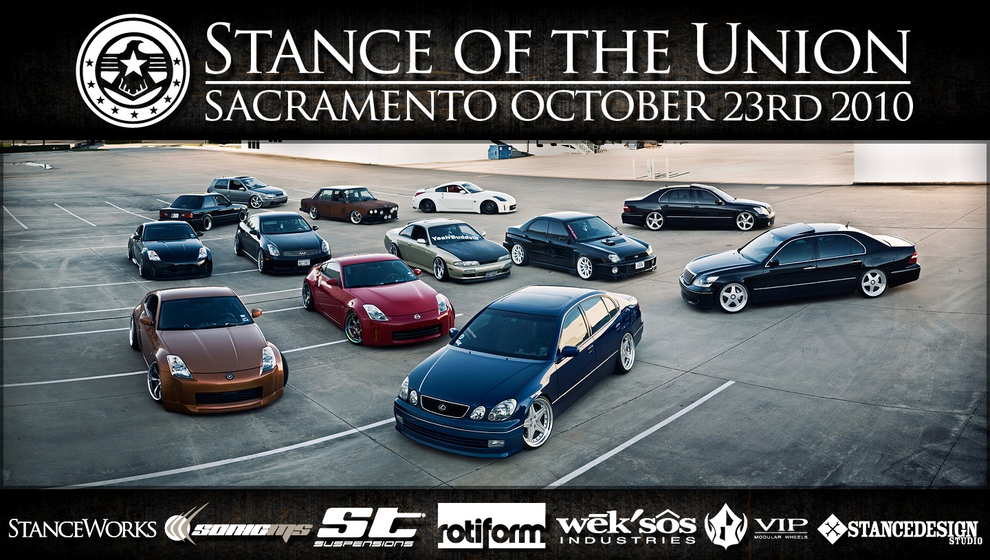 speed and stance car meet flyer