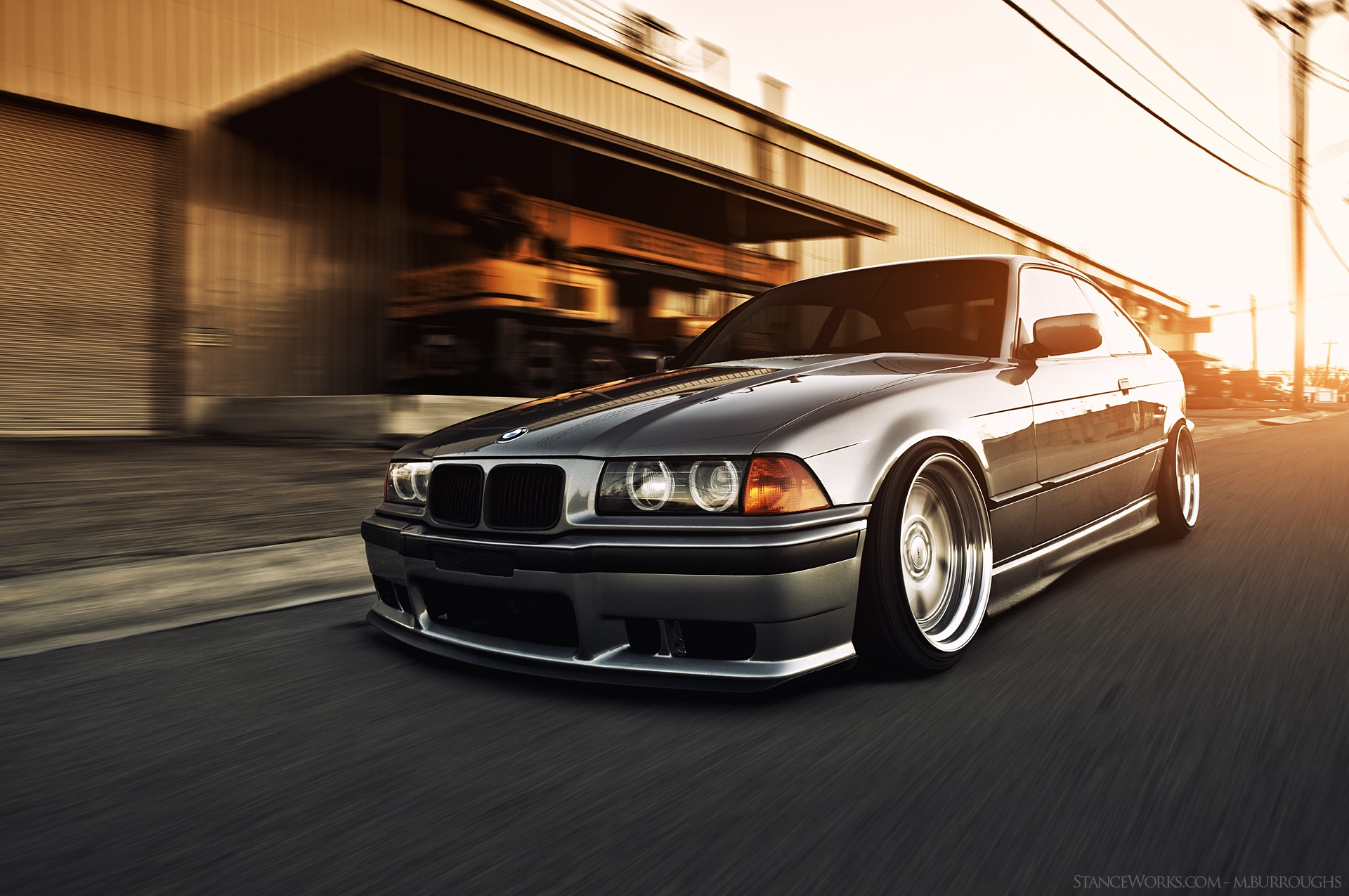 bmw e36 hellaflush
