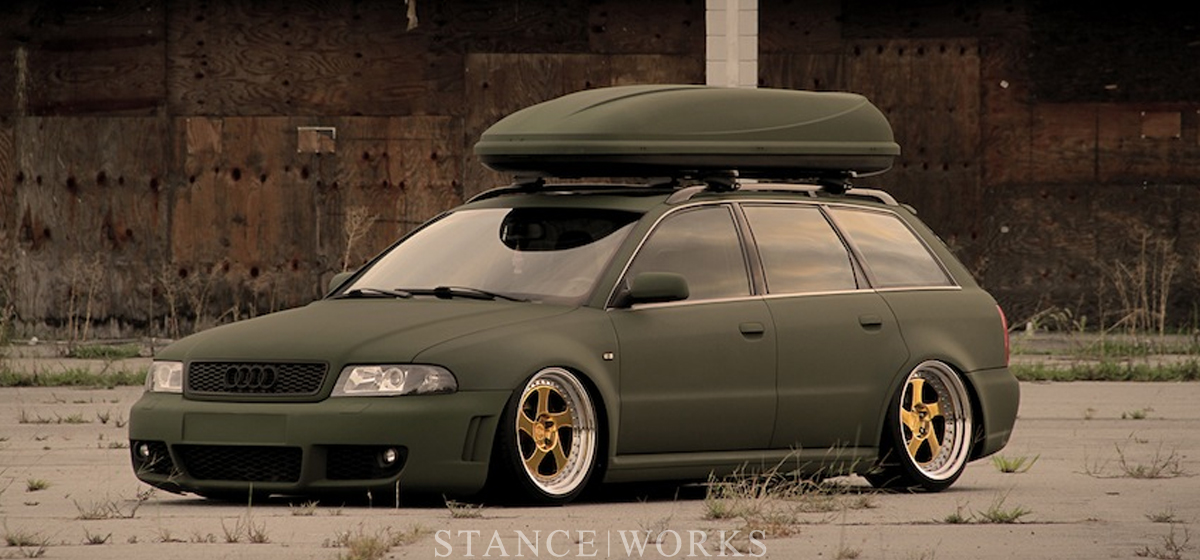 AWOL x StanceWorks- JJ's RS4 Avant