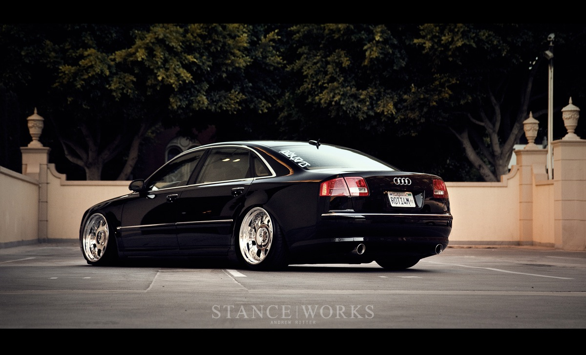 Two Years In Rotiforms Audi A8 Stanceworks