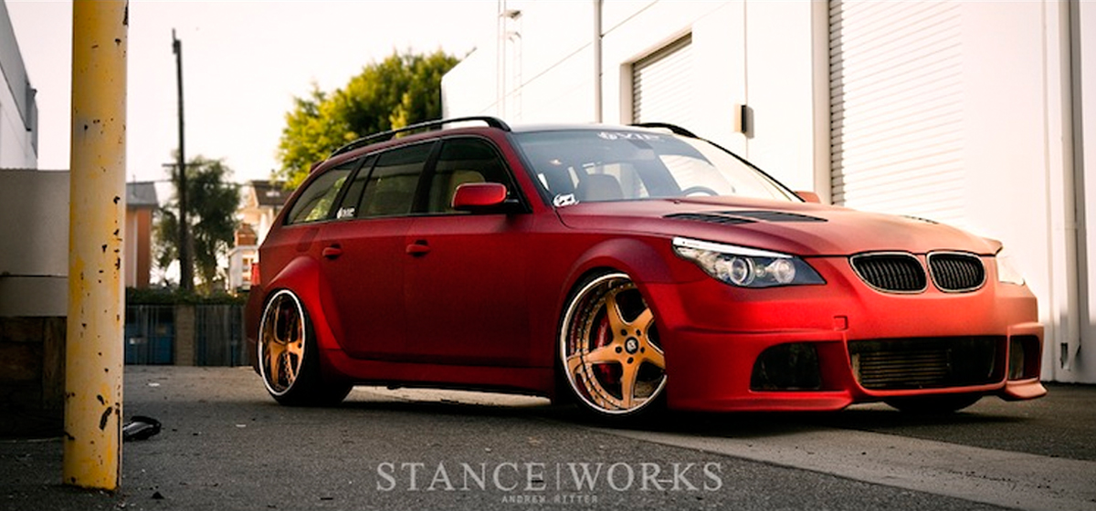 Wide Load: VIP Modular's BMW E61