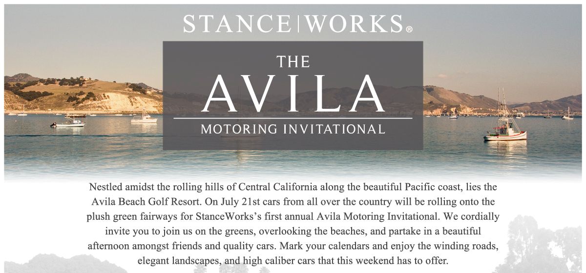 Avila Motoring Invitational : Save the Date!