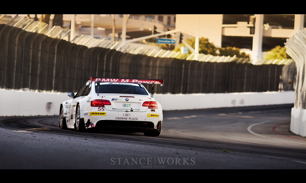 BMW ALMS m3 Long Beach corner