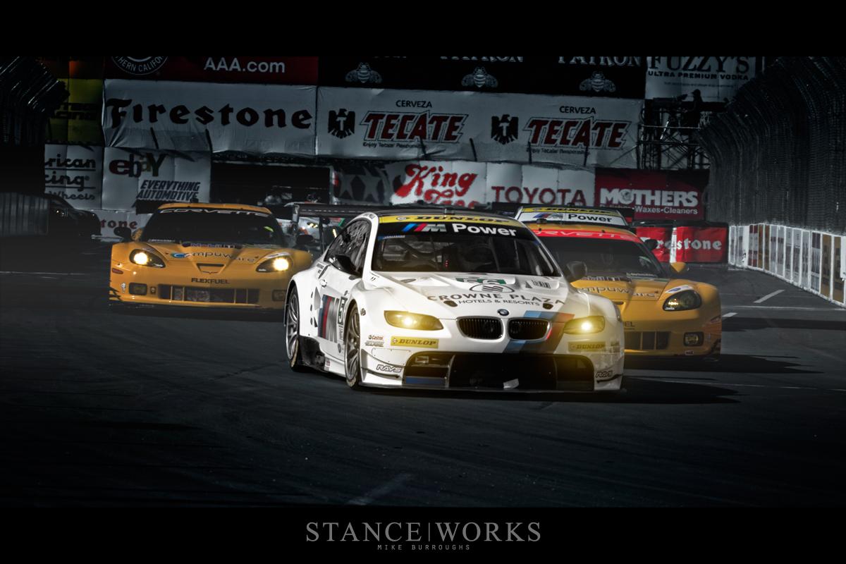 BMW ALMS Corvettes