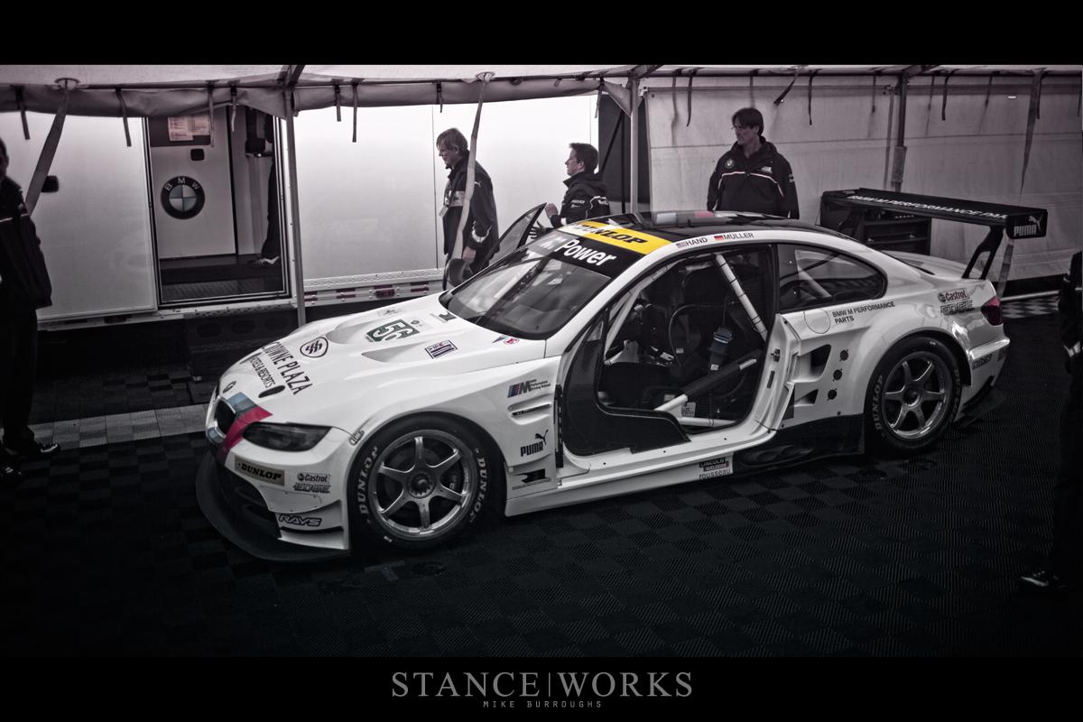 BMW ALMS Racecar