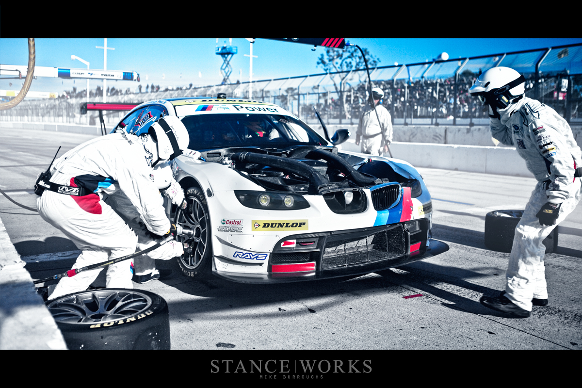 Bmw Team Rll At Alms Long Beach