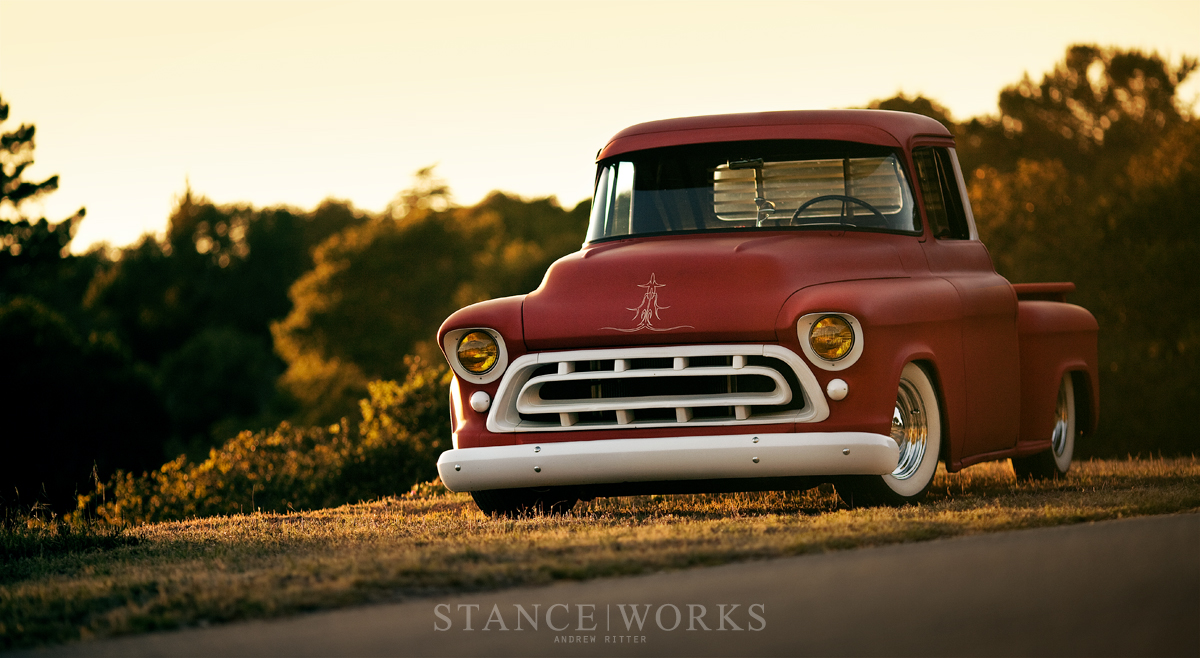 Stance Works Adam S Rotors 57 Chevy Pickup