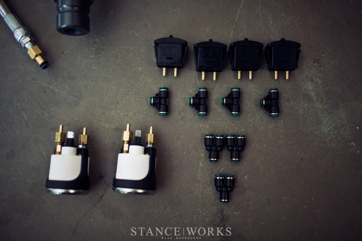 Stance Works : Using the Air Lift Universal struts to bag