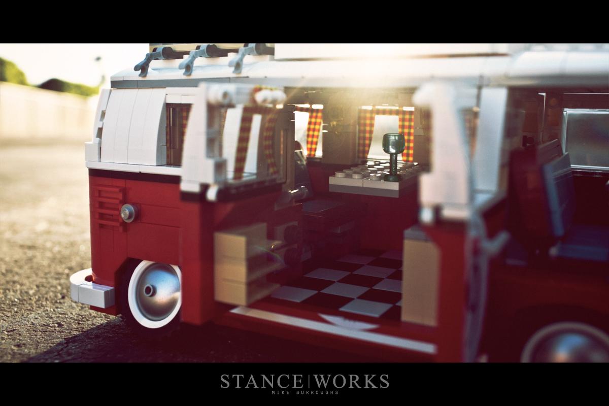 Stance Works Slammed Lego Volkswagen Bus