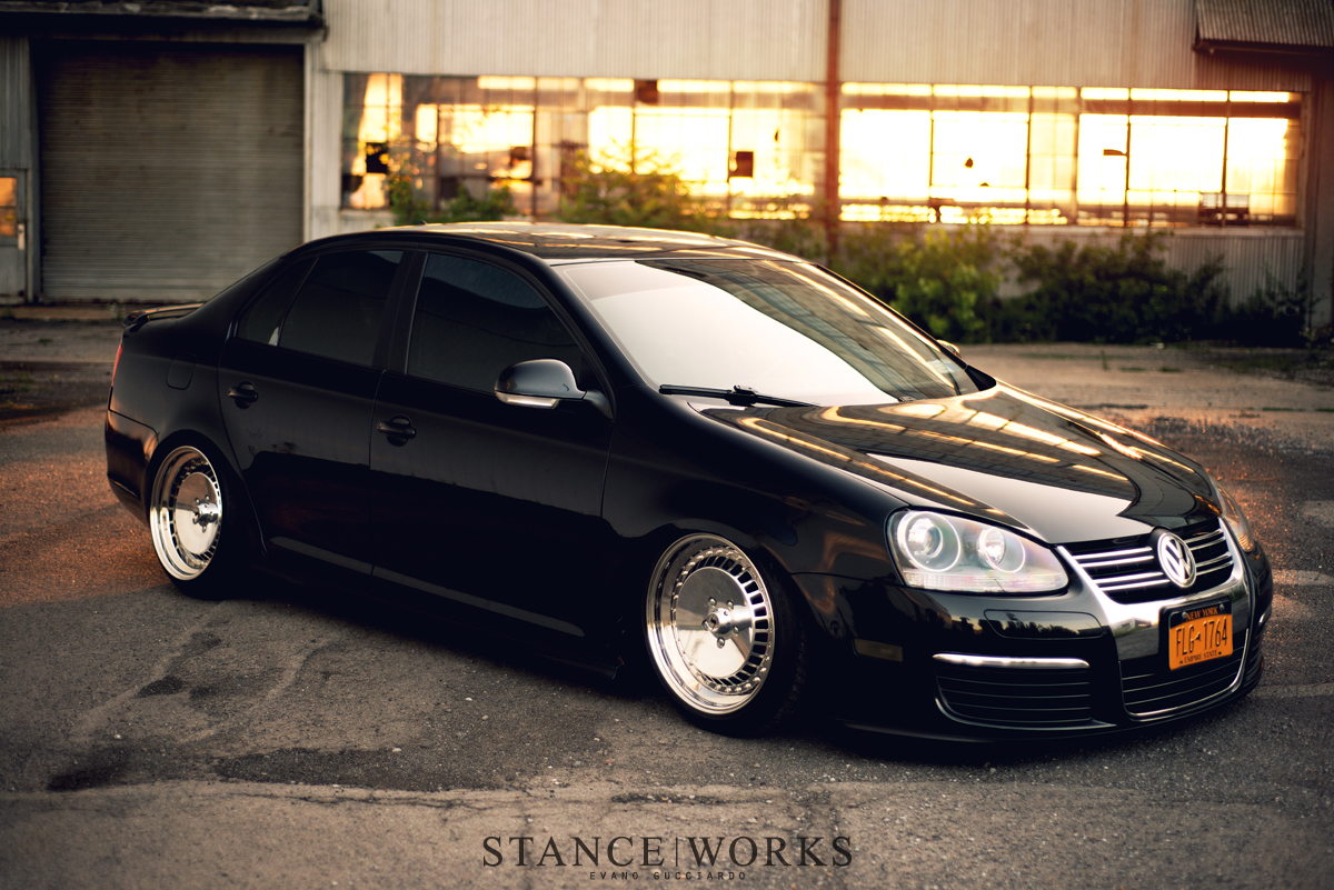 stance works a mkv jetta on polished schmidt wheels. Black Bedroom Furniture Sets. Home Design Ideas
