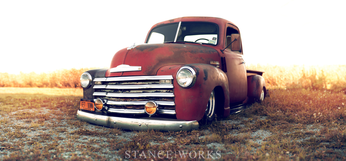 Larry Fitzgerald's 1949 Chevy 3100 Pickup