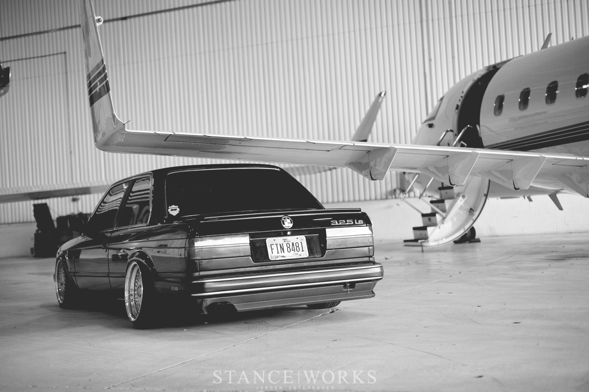 bagged e30 camber