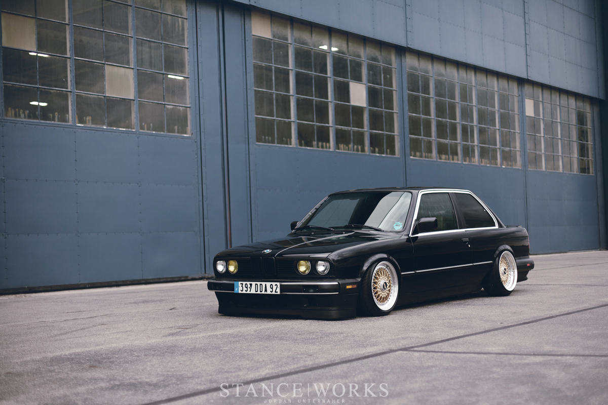Bagriders bmw e30 bagged
