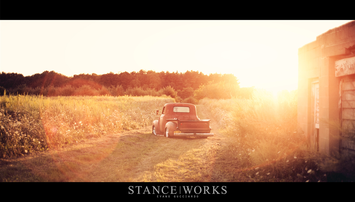 Stance Works Larry Fitzgerald S 1949 Chevy 3100 Pickup