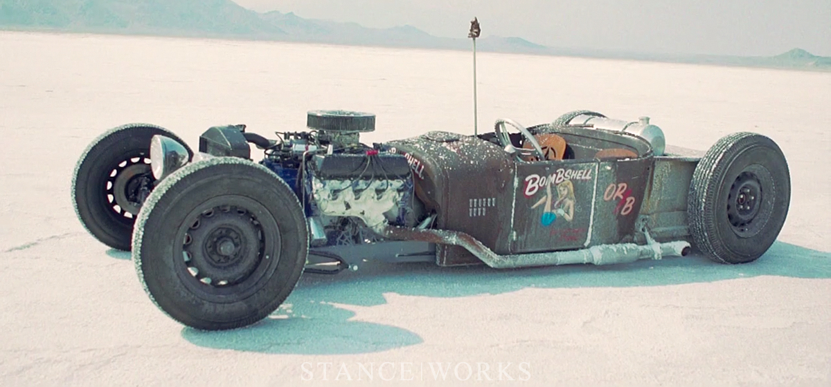 On The Salt - Bonneville Speed Week 2012 by Darkcar