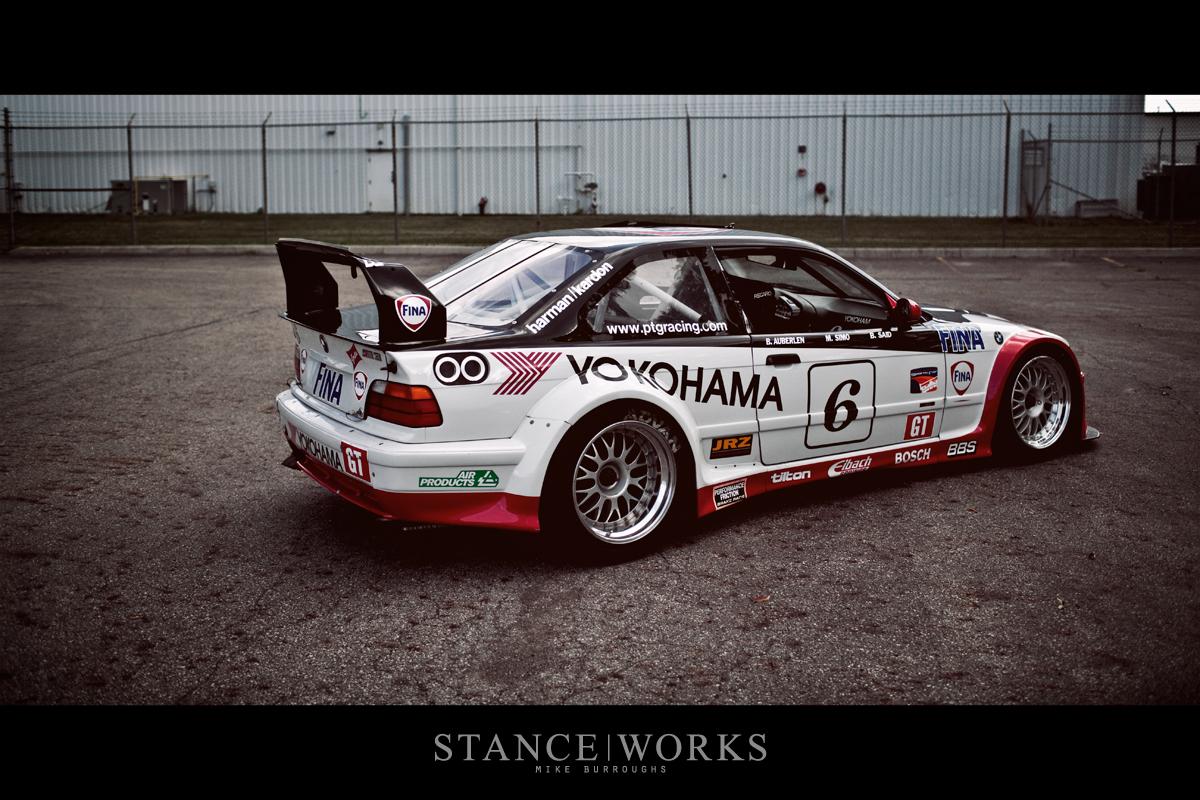 The 6 E36 Ptg Yokohama Fina Race Car