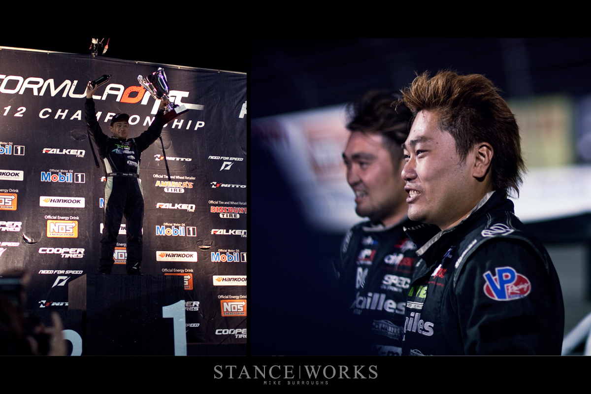 Daigo Saito Champion Formula Drift Irwindale Speedway