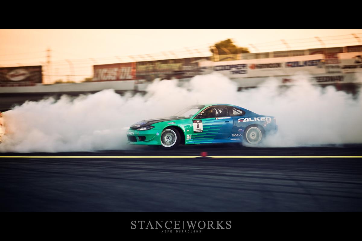 Silvia S15 Formula Drift Irwindale Speedway