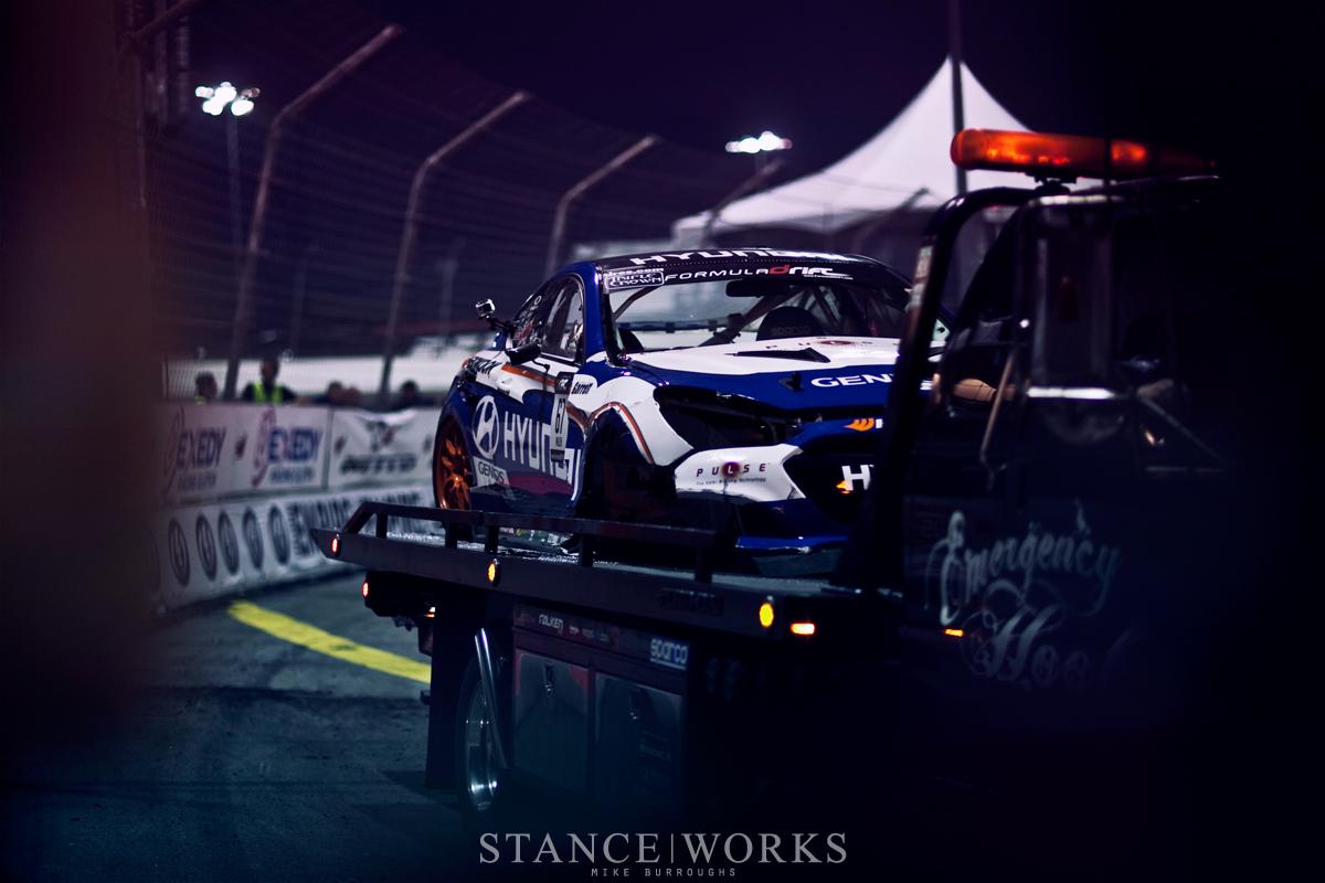 Rhys Millen Formula Drift Irwindale Speedway