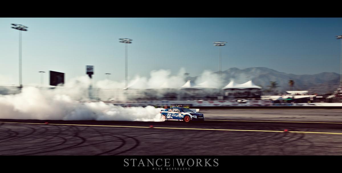 Rhys Millen Hyundai Formula Drift Irwindale Speedway
