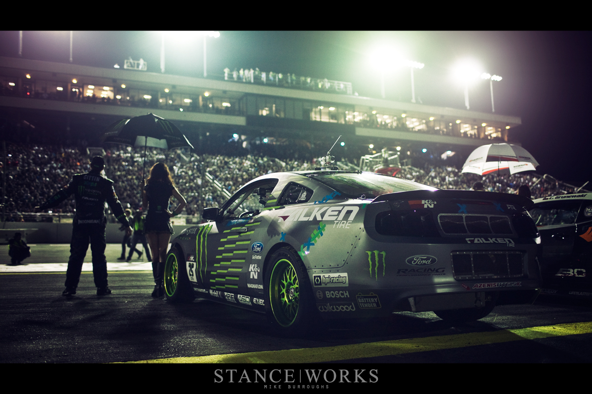 Vaugh Gittin JR Ford Mustang Formula Drift Irwindale Speedway