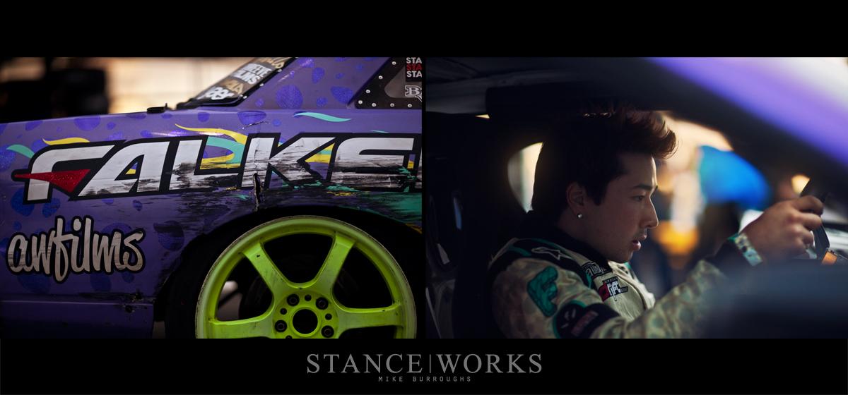 Walker Wilkerson Fatlace Formula Drift Irwindale Speedway
