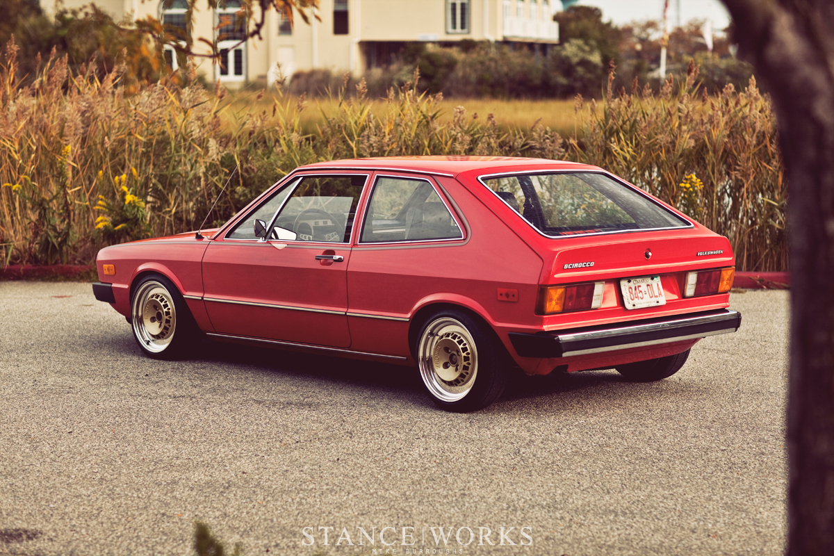 danny delic 39 s 1975 mk1 vw scirocco stanceworks. Black Bedroom Furniture Sets. Home Design Ideas