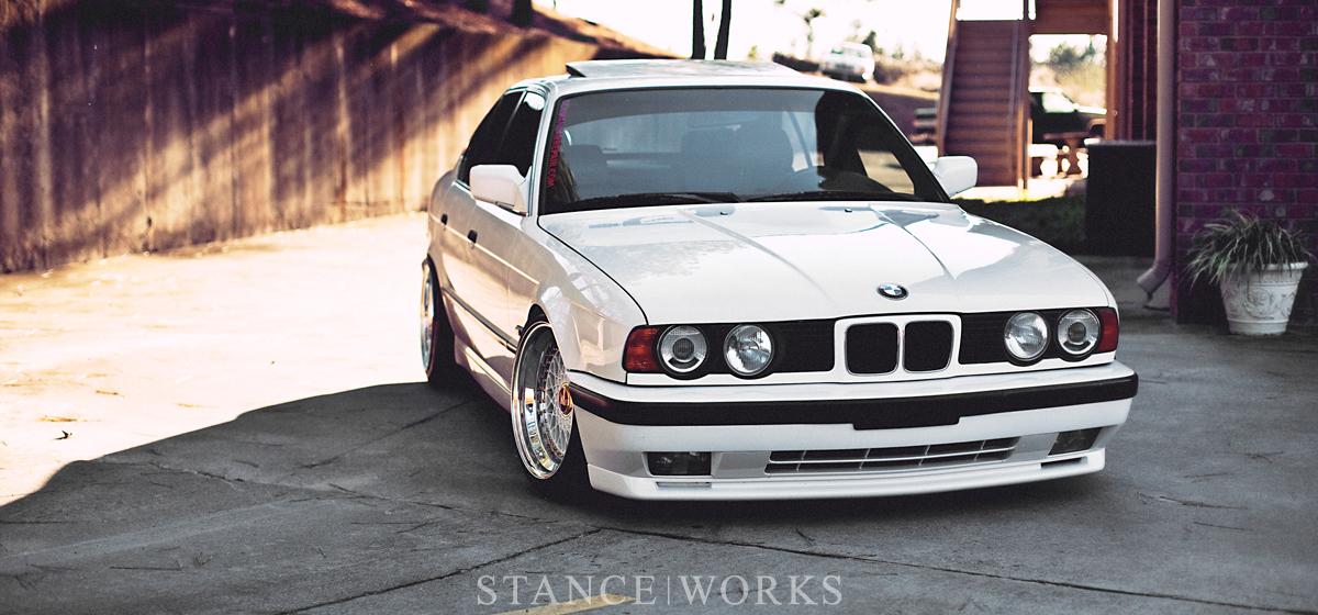 #FFFFFF - Ralph Ruiz's 1992 BMW E34 525i