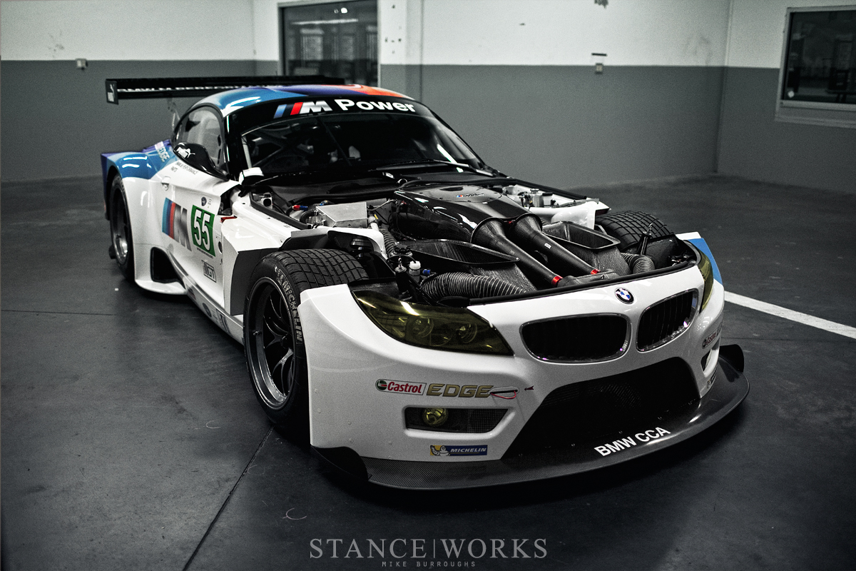 BMW Z4 GTE Engine V8