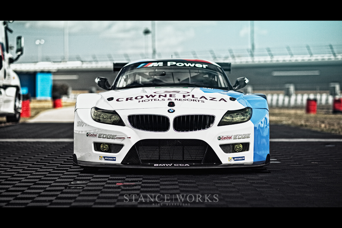 BMW Z4 GTE ALMS front