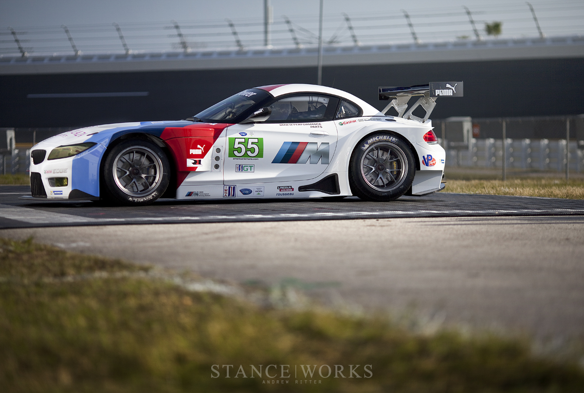 Side Profile BMW Z4 GTE