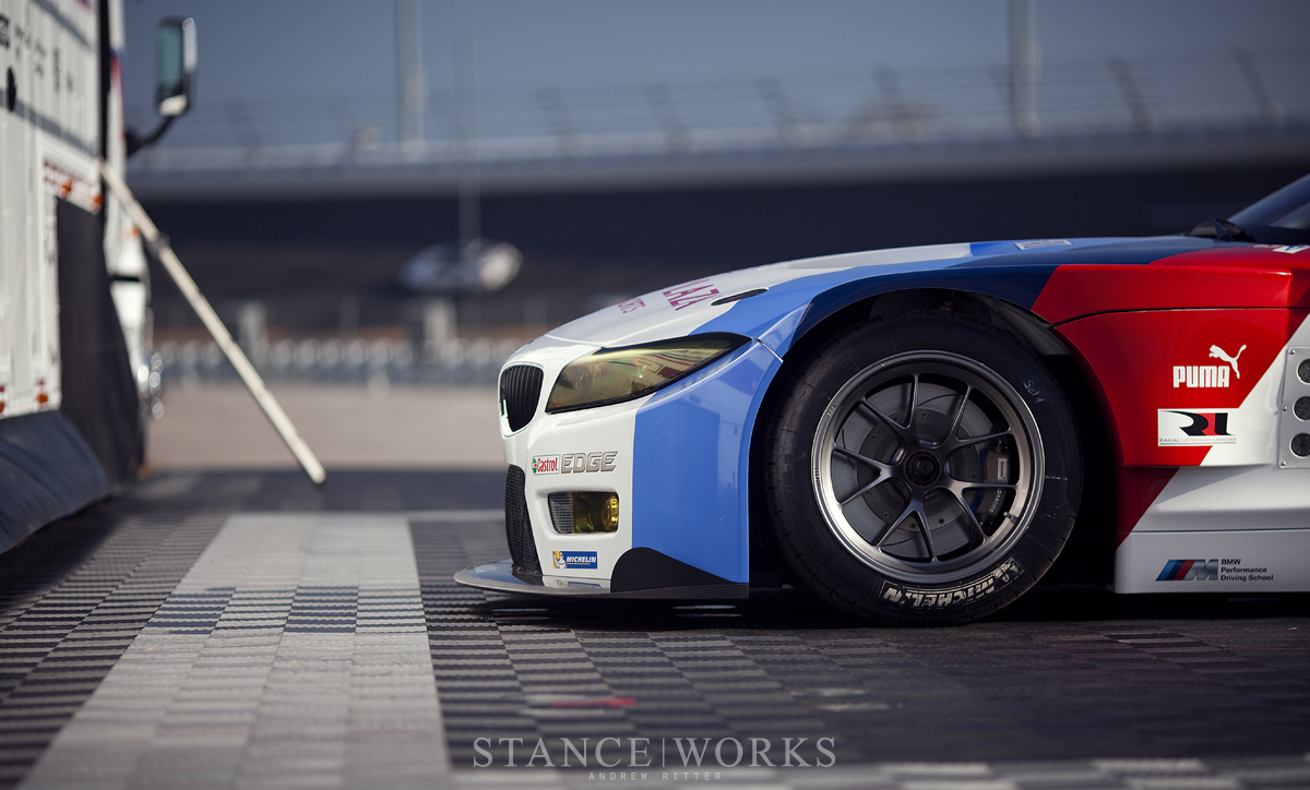 BMW z4 GTE Michelin Tires