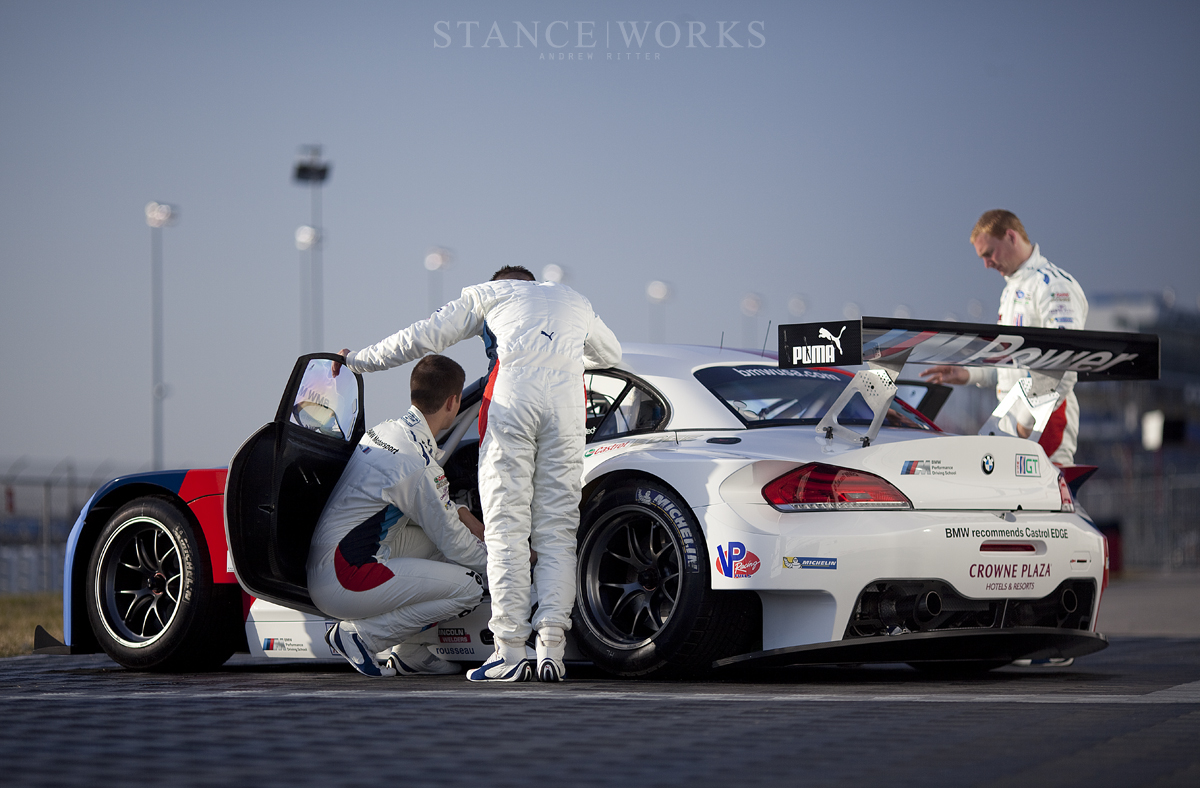 Team RLL BMW z4 GTE