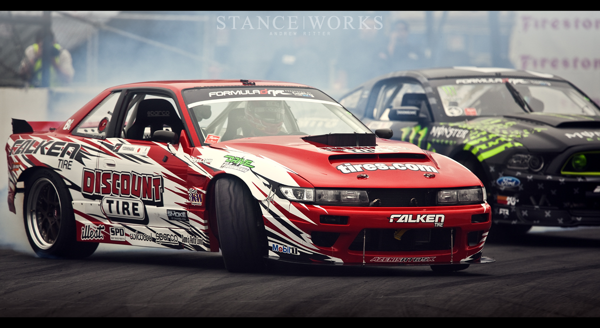 Formula Drift - Round One - The Streets of Long Beach 2013