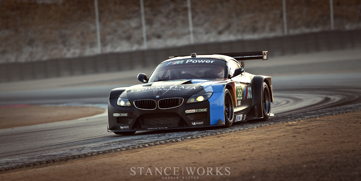 ALMS BMW Z4 GTE Team RLL No. 55