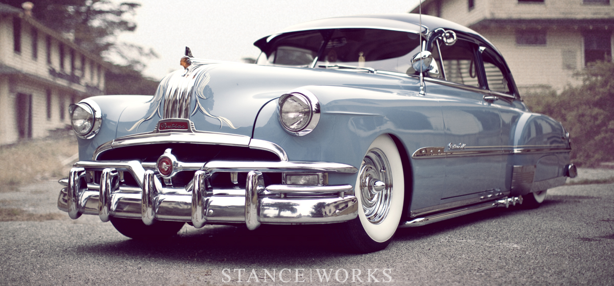A Kustom Bomb - Adam Woodhams's 1951 Pontiac Chieftain Deluxe 2-Door Sedan