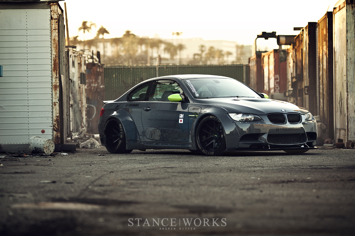 The Liberty Walk Lb Performance M3 Stanceworks