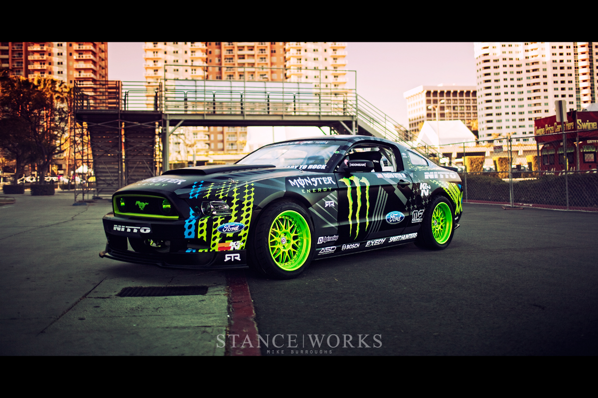 Vaughn Gittin Jr S Monster Energy Nitto Tire Mustang Rtr