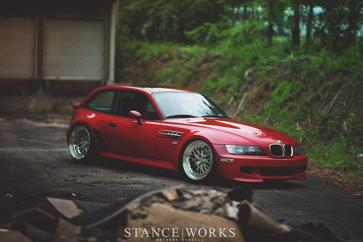 The Lady in Red - Kacper Krajewski\'s 1999 BMW M Coupe