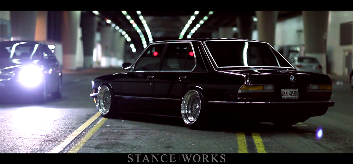B L A C K - Jeremy Whittle's E28 on the Streets of Los Angeles