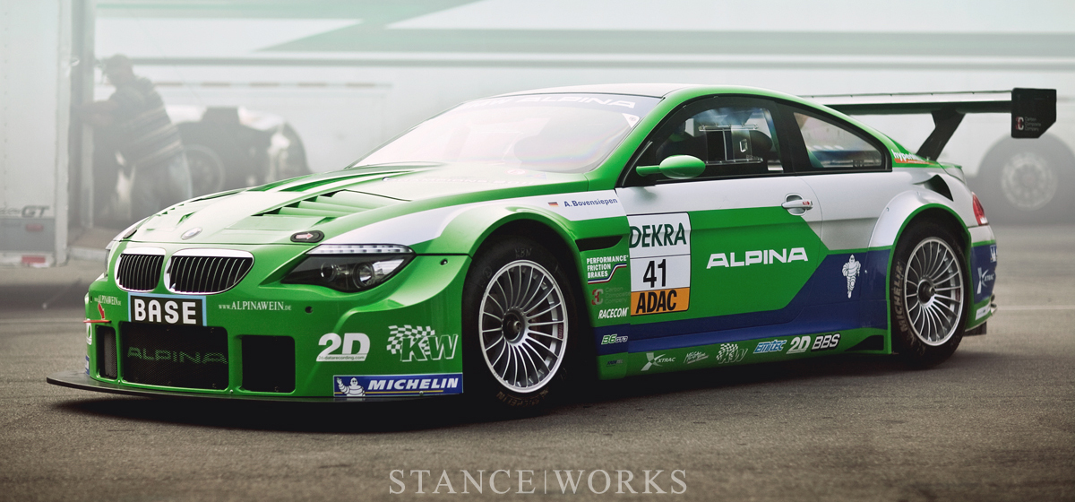 ALPINA's Return - the BMW ALPINA B6 GT3