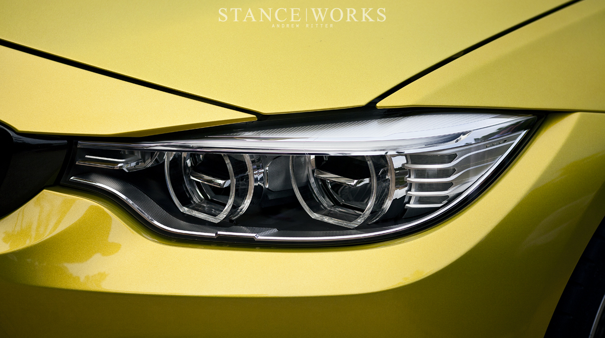 bmw m4 concept coupe headlights