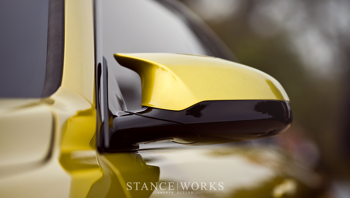 BMW m4 concept mirrors
