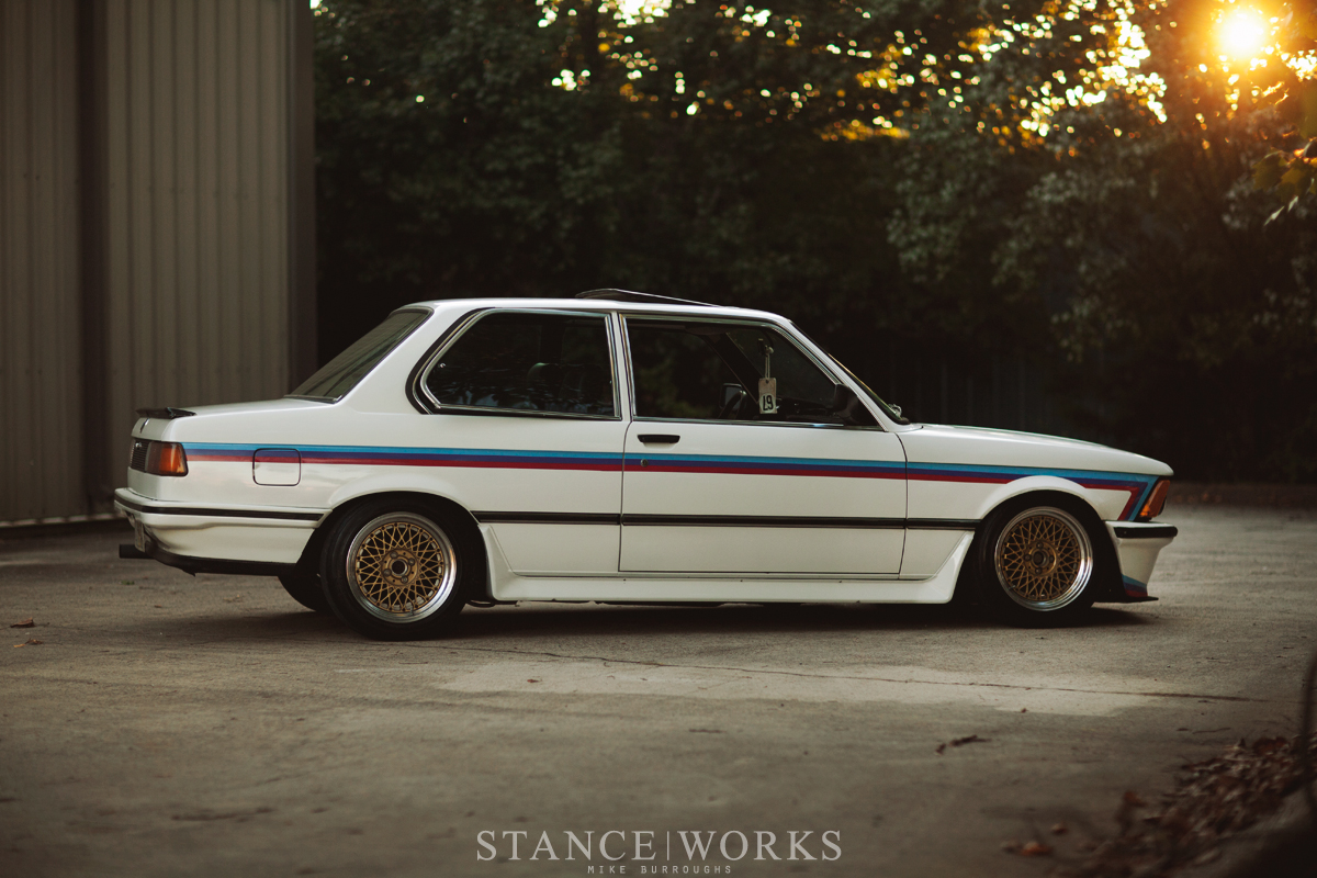 Home Grown Cory Hutchisons 1983 Bmw E21 320is Stanceworks 1986 Honda Accord Stanced The Two Were Diehard