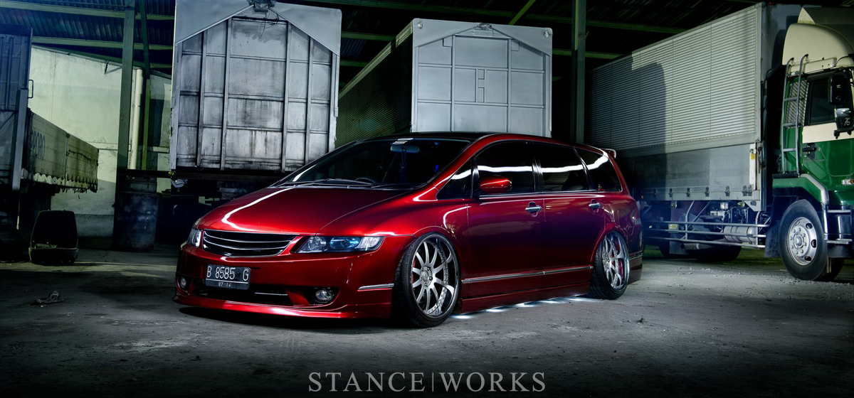 Unsettling the Minivan Ethos: Edbert Wijaya's VIP Honda Odyssey