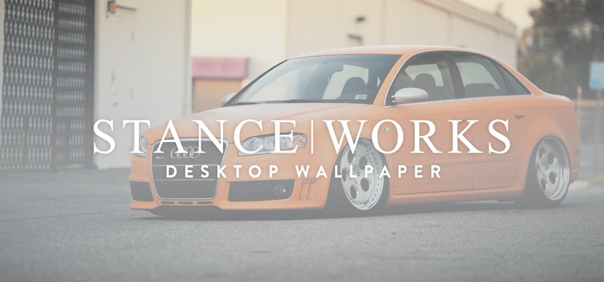 StanceWorks Wallpaper - The Rotiform RS4
