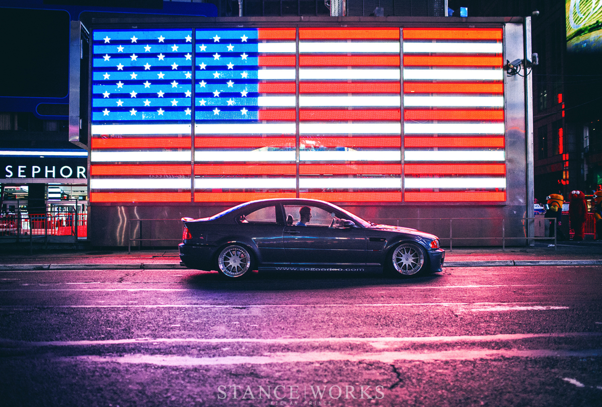 Under the Lights of NYC - Eric Penelow's BMW E46 M3