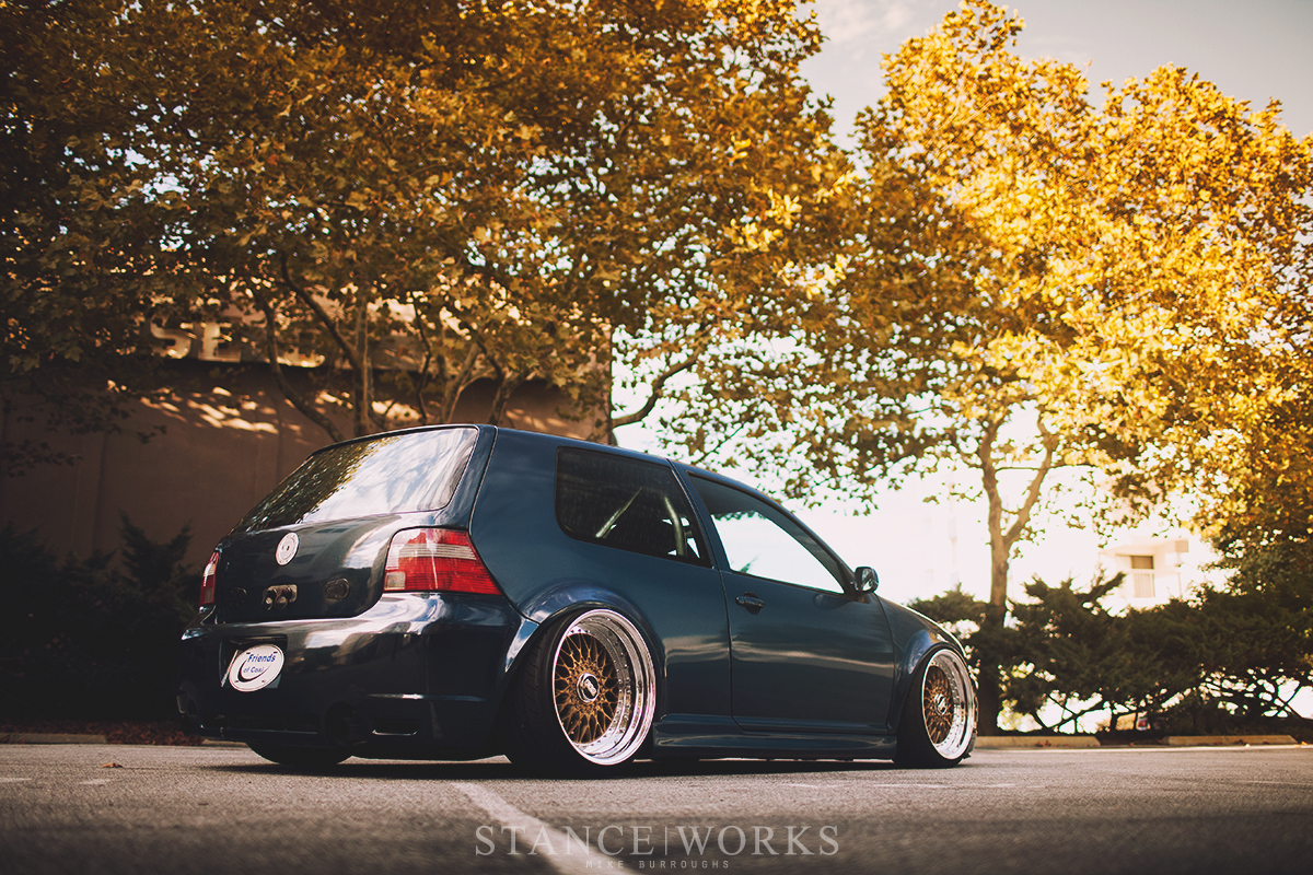 the long way around mike houck 39 s awd turbo diesel mkiv vw gti stanceworks. Black Bedroom Furniture Sets. Home Design Ideas