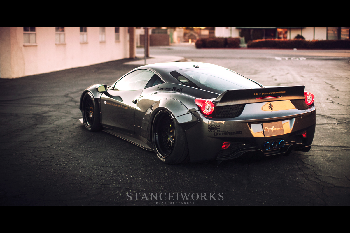Stance Works The Liberty Walk Ferrari 458