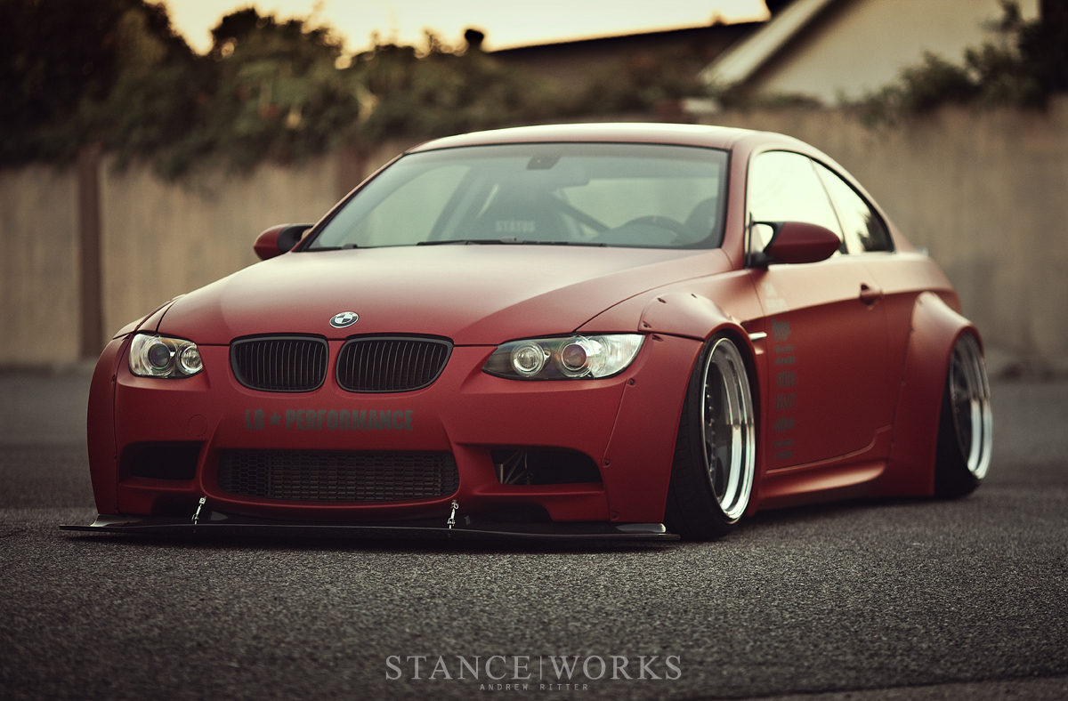 The Bag Riders LB-Performance BMW E92 335xi SEMA Build